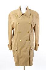 Rena Lange abrigo talla 46/3xl más fácil de transición abrigo Parka chaqueta de gabardina