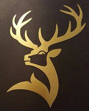 Glenfiddich scotch whisky decal. SPECIAL listing for text and deer custom sizes
