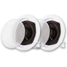 Acoustic Audio R191 In Ceiling Speaker Pair 2 Way Home Theater 400 Watt R191-PR