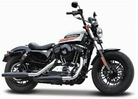 Maisto 1:18 Harley Davidson 2018 Forty Eight Special Bike Motorcycle Model BOXED