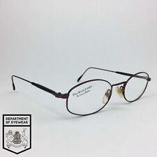 c17e5b3f369 RALPH LAUREN eyeglass COPPER RECTANGLE WIRE frame Authentic MOD POLO  CLASSIC 242