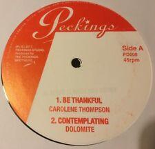 "Carolene Thompson - Be Thankful - Dub- Peckings - 12"" - Studio One  - Tenna Star"