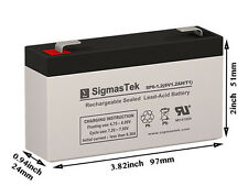 6 Volt 1.4 Amp Medical battery Replacement by SigmasTek