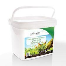 Kompostbeschleuniger Kompostierung Schnellkomposter Kompost Komposthilfe 10kg