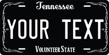 Tennessee Tag License Plate Personalized Auto Car Custom VEHICLE OR MOPED