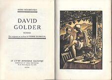 DAVID GOLDER NEMIROVSKY STAMPE CAPOLETTERA FREGI PIERRE DUBREUIL 1931