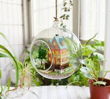 DIY  Miniature Dollhouse in Mini Glass Ball,  (B-003), My Mini House