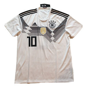 2018/19 Germany Home Jersey #10 Ozil Large World Cup Soccer Deutschland NEW