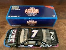 Action 1995 Geoff Bodine #7 Exide Batteries Ford Thunderbird 1/24