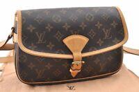 Authentic Louis Vuitton Monogram Sologne Shoulder Bag M42250 LV A9872