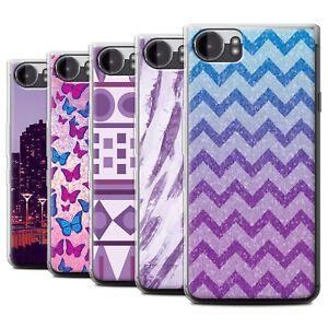 STUFF4 Gel/TPU Phone Case for Blackberry KeyOne/BBB100 /Purple Fashion