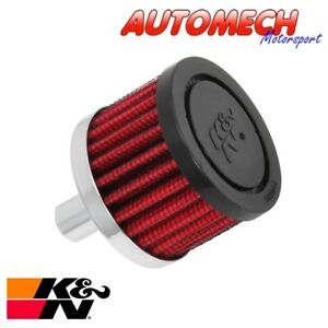 """K & N Breather Filter 12mm Male fitting, 3"""" (76mm) OD Unit (62-1010)"""
