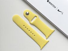 Genuine Apple Watch Sport Band Strap 42mm/44mm CANARY YELLOW *RARE*
