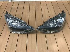 JDM 2013 Toyota Prius C Aqua NHP10 Led Headlights Lights Lamps Set Black OEM