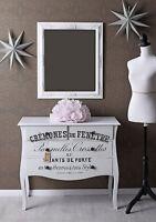 Wandspiegel Hängespiegel Antik Weiß Barockspiegel Garderobenspiegel Badspiegel