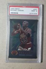 1994 Finest Michael Jordan PSA 9 Chicago Bulls #331 Mint 1994-95