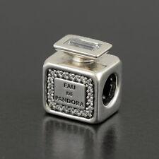 Authentic Genuine Pandora Silver Signature Scent Perfume Charm - 791889CZ