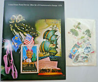 Sealed 1978 Mint Set Commemorative USPS Souvenir Album with Stamps Free Shipping