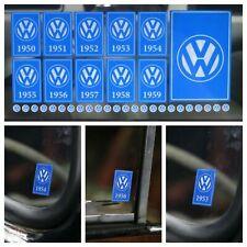 Year Window Sticker Pack for VW Volkswagen 1950 - 1959 Reverse Print - 35 Decals