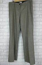 SCANLAN & THEODORE Trousers/Pants  Sz 14 100% Wool Gray
