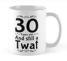 30th Birthday 30 small gift idea funny mug mugs cup card alternative Born 1998