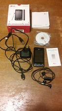 LG  Cookie KP500 - Schwarz (Ohne Simlock) Handy  Display defekt mit viel Zubehör