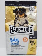 Trockenfutter für Hunde Welpen - HAPPY DOG Baby Grainfree - Herzform - 1kg
