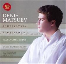 Tchaikovsky and Shostakovich Piano Concertos - Music