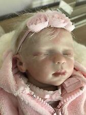 "Marita Winters Reborn Baby Fairy Doll Zodi 10"" Woobiebabies Custom Outfit w COA"