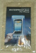 "Waterproof Pouch / Dry Bag For Cell Phone - Clear - (3.5"" x 5.25"" inner Dim)"