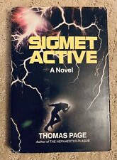 Sigmet Active by Thomas Page Signed Hardcover