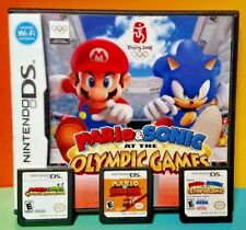 Mario & Sonic, Bowser's Story, Mario Donkey Kong  Nintendo DS Lite 3DS 2DS  Lot