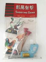 Vintage Chinese Duck Shooting Game toy WG 049 made in China 1960s- Rare