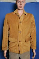 New listing Vintage 50s 60s Styled outerwear by Saratoga tan corduroy button front jacket 38