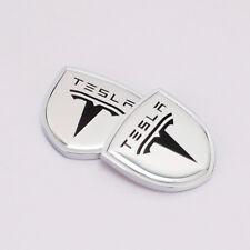 Auto Heck Kotflügel Aufkleber Emblem Abzeichen Logo Zubehör für Tesla X S 3