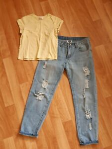Sz 6 All About Eve Ripped Jeans