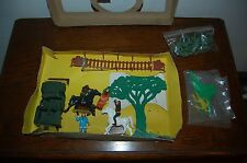 Planet Of The Apes Multiple Toymakers Playset Rough with Box Rare Htf !