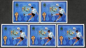 [OPG1006] Libya 1982 Football lot of 25x very fine MNH sheet