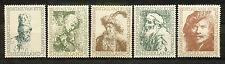 Nederland  671 - 675 postfris  Rembrandt
