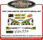 1997 1998 ARCTIC CAT Kitty Cat Decal kit Reproductions