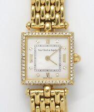 Authentic Van Cleef & Arpels Pierre Arpels 18k Yellow Gold Diamonds 65.0 g WATCH