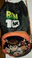 1 ZAINETTO SACCA ZAINO BORSA CARTOON NETWORK TV BEN10 GADGET BAG BEN 10 palestra
