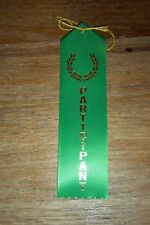 """Participation Ribbons 2"""" x 8"""" High Quality (Pack of 25)"""