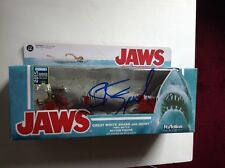 "Steven Spielberg signed autograph ""Jaws"" Funko Reaction Bloody Quint figure Coa"