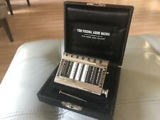 "Vintage Authentic Gem Adding Machine ""Your Personal Adding Machine"" +Stylus +Box"