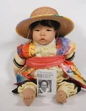 Orig. Carlos Götz 162/24 Sabber Baby chinesische Künstlerpuppe Carin Lossnitzer
