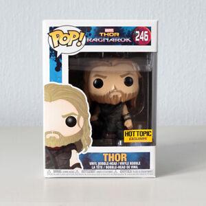 MARVEL Funko Pop! Vinyl 246 'Thor' (Thor Ragnarok) *NEW* Hot Topic Exclusive