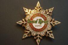 HRC Hard Rock Hotel Las Vegas Christmas 1995 Snowflake Staff Red White Cafe