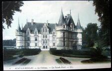 FRANCE ~ 1900's AZAY-LE-RIDEAU  -   Le Chateau - La Facade Nord ~ CASTLE