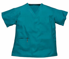 Reversible Hospital Scrub Tunic - Unisex Medical Doctor's Work Wear